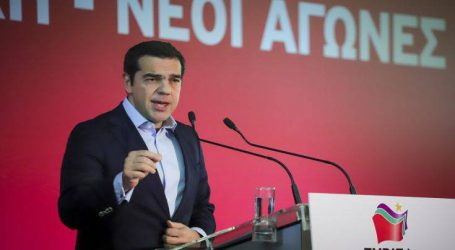 Μεγάλη πολιτική συγκέντρωση του ΣΥΡΙΖΑ στη Θεσσαλονίκη με ομιλητή τον Τσίπρα