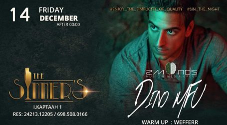 The Sinner's Bar: 14/12 Guest Dj Dino MFU warm up Wefferr
