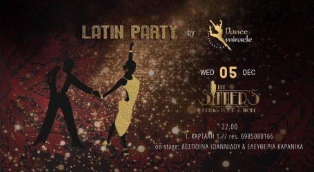 Latin Party στο νέο club της πόλης The Sinner's Bar