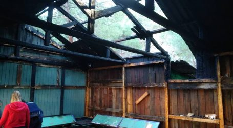 Φωτιά στις εγκαταστάσεις του 9ου Συστήματος Δασοπροσκόπων  Βόλου