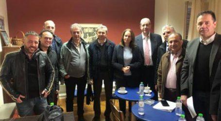 Με τους Φυσικοθεραπευτές συναντήθηκαν Παπανάτσιου – Μεϊκόπουλος στον Βόλο