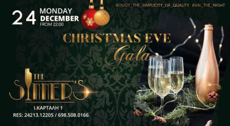 Christmas Eve Gala στο Sinner's !