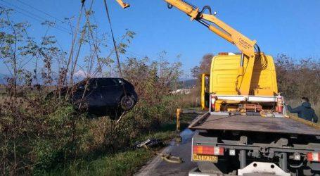 Τροχαίο με τρεις τραυματίες στην Εθνική Οδό Λαμίας – Καρπενησίου