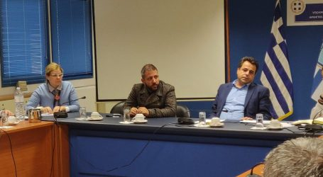 Ο Αλ. Μεϊκόπουλος στον Αναπληρωτή Υπουργό Ναυτιλίας στη σύσκεψη για την ακτοπλοϊκή σύνδεση των Σποράδων