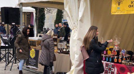 Άνοιξε τις πύλες της η παραδοσιακή γιορτή μελιού Λάρισας (φωτό)