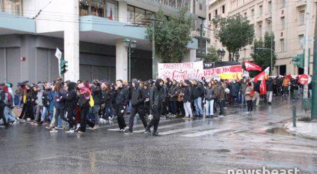Ολοκληρώθηκε το μαθητικό συλλαλητήριο στην Αθήνα για τον Γρηγορόπουλο
