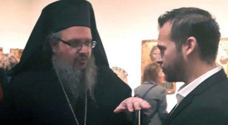 Στην έκθεση «Ελπίδα και Πίστη. Εκκλησία και Τέχνη στη Θεσσαλία τον 16ο αιώνα» ο Αναγνωστόπουλος