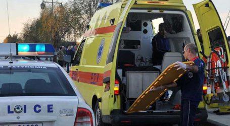 Τροχαίο στο ύψος του Κιλελέρ – Ένας τραυματίας στο νοσοκομείο της Λάρισας