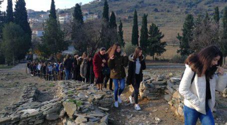 Εκπαιδευτική επίσκεψη του 9ου Γυμνασίου Λάρισας στο Διμήνι