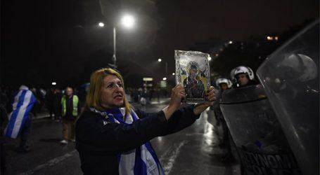Ενταση και χημικά στο κέντρο της Θεσσαλονίκης με ΜΑΤ και διαδηλωτές