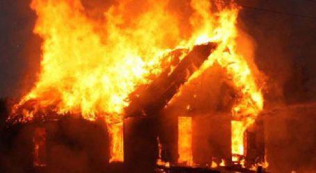 Φωτιά έκαψε στάβλο στο δρόμο Aμπελώνα – Τυρνάβου