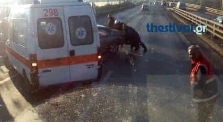 Μποτιλιάρισμα από καραμπόλα στην Περιφερειακή Θεσσαλονίκης