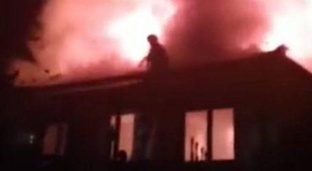 Σώθηκε από τις φλόγες ιστορικό αρχοντικό στην Καστοριά
