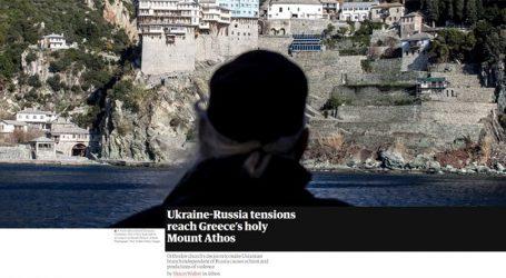 Η ένταση Ουκρανίας – Ρωσίας φτάνει στο Άγιο Όρος