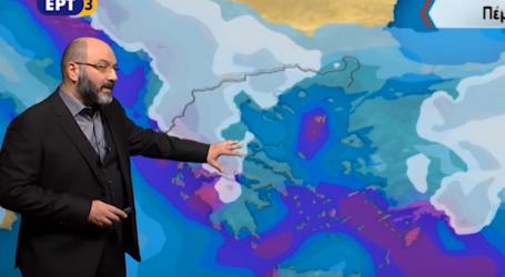 Πάλη ψυχρών και θερμών μαζών πάνω από την Ελλάδα