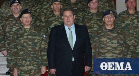 Θα παραιτηθώ από υπουργός Άμυνας αν οι Σκοπιανοί ψηφίσουν τη Συμφωνία των Πρεσπών…
