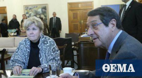 Κύπρος: Έληξε χωρίς δηλώσεις η συνάντηση Αναστασιάδη