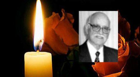 Πέθανε ο Λαρισαίος καθηγητής Βασίλης Παπανικολάου