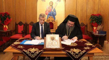 Συνεργασία Περιφέρειας και Μητρόπολης Λαρίσης για τη δημιουργία νέων χώρων στον Ιερό Ναό του Αγίου Νικολάου