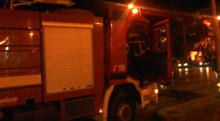 Συναγερμός στην Πυροσβεστική – Καίγεται εργοστάσιο στη Λάρισα
