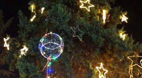 Ανάβει το Χριστουγεννιάτικο Δέντρο σήμερα στην πλατεία Φιλιππούπολης στη Λάρισα
