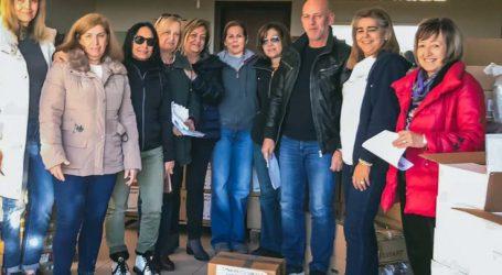 Τρόφιμα σε 250 οικογένειες στο δήμο Κιλελέρ μοίρασαν τα μέλη του ομίλου Αρωγή – Αλληλεγγύη