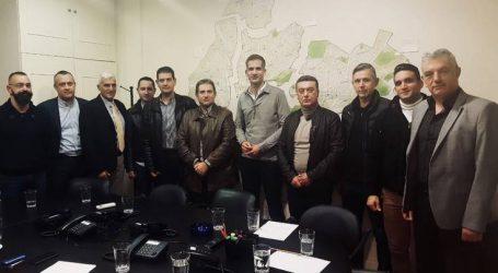Ο Κώστας Μπακογιάννης έκανε συναντήσεις για την ασφάλεια στην Αθήνα