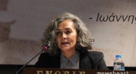 Η Σακοράφα εξηγεί γιατί κατεβαίνει στις εκλογές με το κόμμα του Βαρουφάκη
