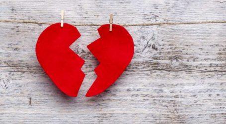 «Ο χωρισμός μας, με λύπη το λέω, είναι αμετάκλητος! Θα προχωρήσω το διαζύγιο»