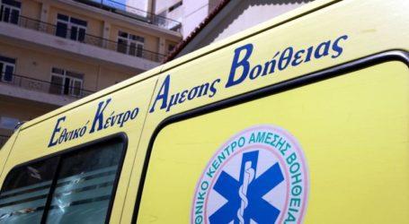 Τροχαίο ατύχημα στον Ριζόμυλο με έναν τραυματία
