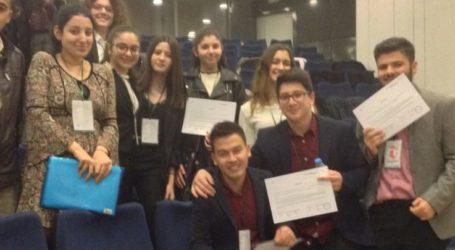 Το Γενικό Λύκειο Φαλάνης στο Ευρωπαϊκό  Κοινοβούλιο  Νέων