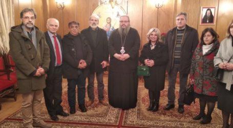 Τον Μητροπολίτη Λαρίσης Ιερώνυμο επισκέφθηκε το ΠΕΚΕΣ Θεσσαλίας