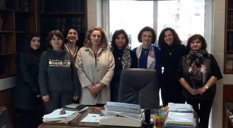 Συνάντηση της Υφυπουργού Εσωτερικών Μ. Χρυσοβελώνη με γυναικείους συνεταιρισμούς της Μαγνησίας