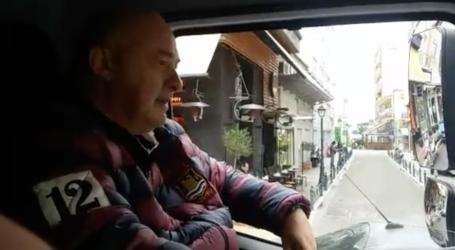 O Μπέος οδήγησε στο κέντρο του Βόλου ένα νέο απορριμματοφόρο [βίντεο]