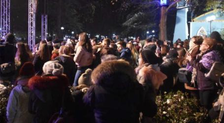 """""""Ζέστανε"""" τους Λαρισαίους με το εκπληκτικό της σόου η Τάμτα το παγωμένο βράδυ της Κυριακής στο Πάρκο των Ευχών (φωτο-βίντεο)"""