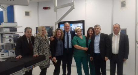 Τη Μαγνησία επισκέφθηκε ο Κώστας Αγοραστός. Στάση στο ψηφιακό χειρουργείο του Νοσοκομείου Βόλου