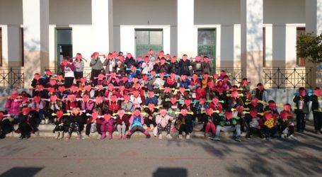 Δράσεις για την Ημέρα Αγκαλιάς από το 1ο Δημοτ. Σχολείο Ν. Αγχιάλου [εικόνες]