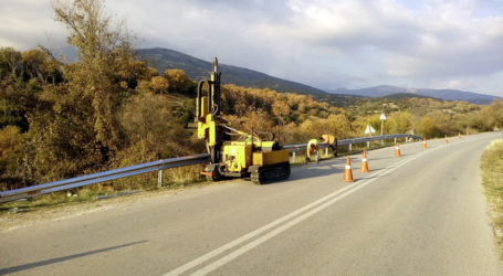 Προστατευτικά στηθαία στο οδικό δίκτυο της Μαγνησίας