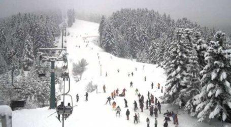 Ανοιχτό και αύριο Δευτέρα το Χιονοδρομικό Κέντρο Πηλιου