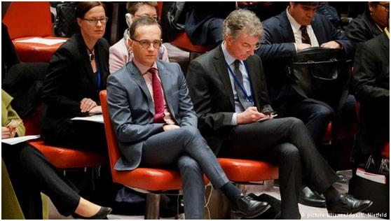 Χάικο Μαας και Κρίστοφ Χόισγκεν στο ΣΑ του ΟΗΕ