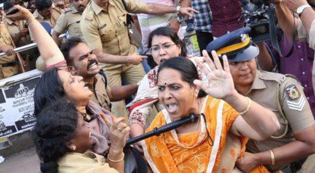 Επεισόδια στην Κεράλα μετά τη δικαστική απόφαση που επιτρέπει την είσοδο γυναικών σε ινδουιστικό ναό
