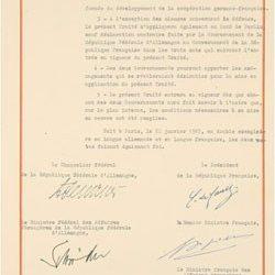 Από τη Συνθήκη των Ηλυσίων στη Συνθήκη του Άαχεν