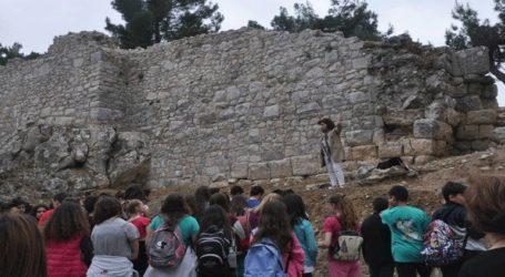 Δεκαεπτά ελληνόπουλα από τον Παναμά επισκέφτηκαν την Ακρόπολη