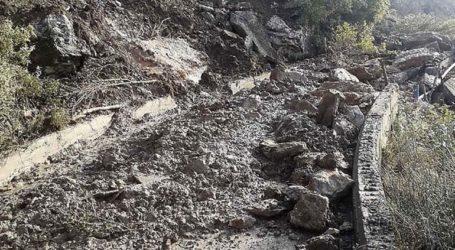 Πλημμύρες και κατολισθήσεις στην Ηλεία από την κακοκαιρία
