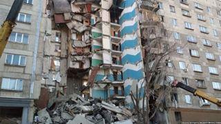 Τουλάχιστον 21 νεκροί από την κατάρρευση πολυκατοικίας στα Ουράλια