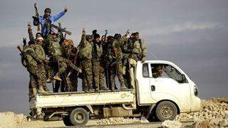 Η Δαμασκός ανακοίνωσε την αποχώρηση «400 Κούρδων μαχητών» από την Μάνμπιτζ
