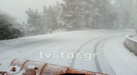 Έκλεισε ο δρόμος που συνδέει την Κεντρική με τη Βόρεια Εύβοια