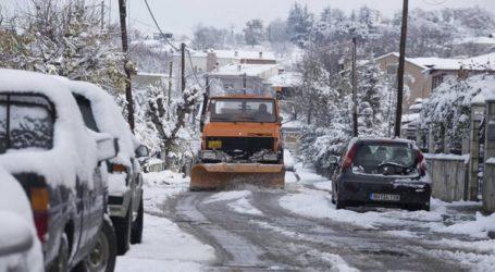 Νέα χιονόπτωση από το μεσημέρι και μετά στην Θεσσαλονίκη