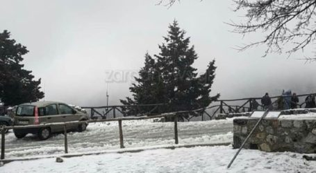 Ο χιονιάς «κατηφορίζει» στην Κρήτη