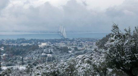 Παγετός σε πολλές περιοχές της Αχαΐας και της Αιτωλοακαρνανίας